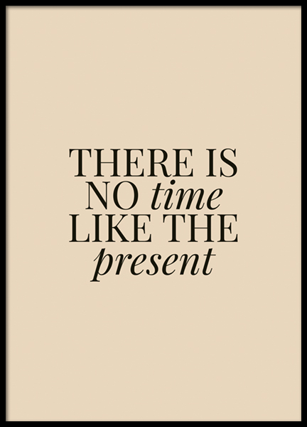 Like The Present Poster