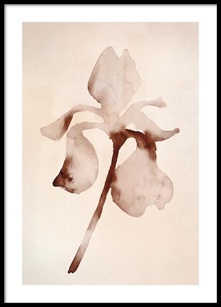 Watercolor Florals No2 Poster