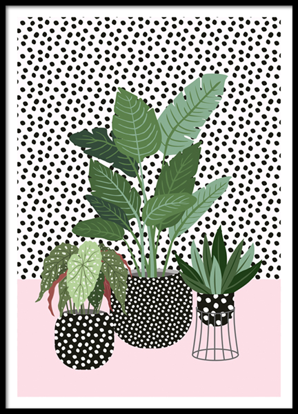 Plant Trio Poster