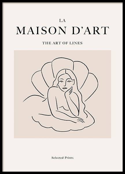 La Maison D'Art No1 Poster