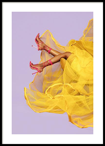 Sunshine Dress Poster