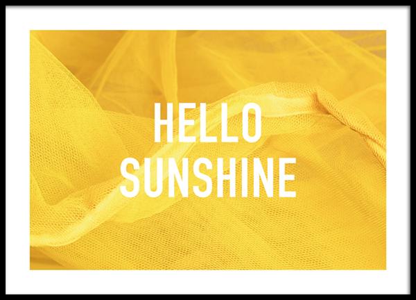 Sunshine Greetings Poster