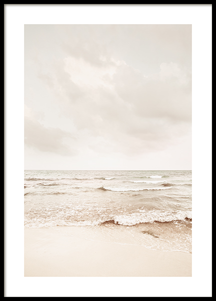 Calming Sea Poster