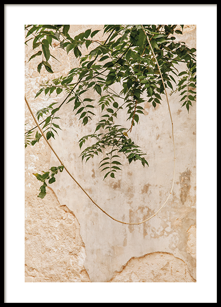 Concrete Leaves Poster