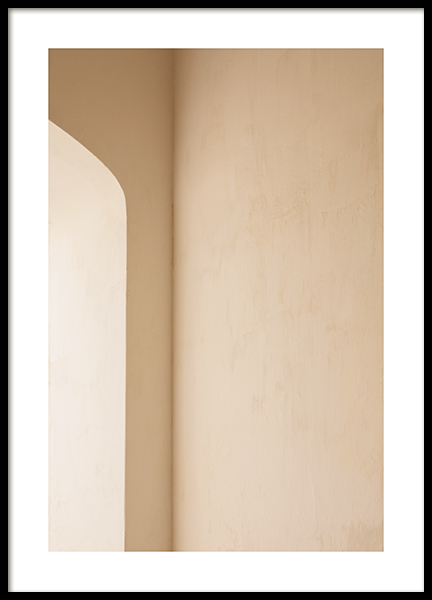 Soft Arch Poster