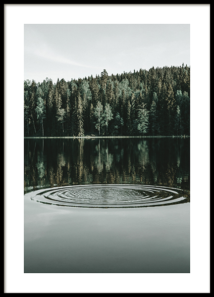 Ripples on the Water Poster