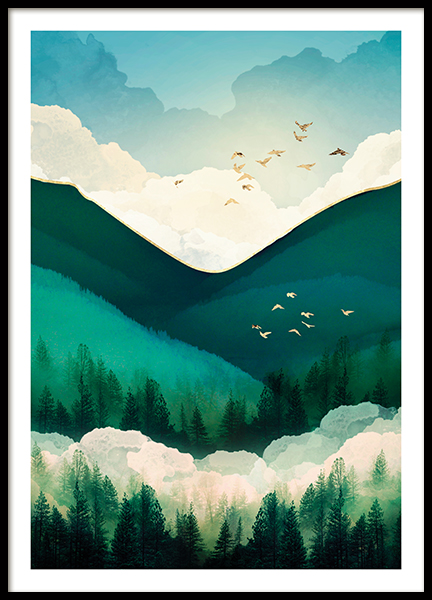 Emerald Hills Poster