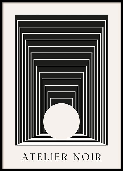 Atelier Noir Poster