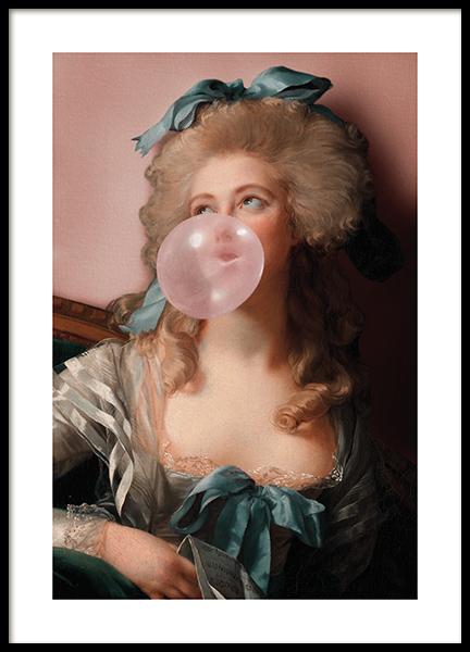 Bubblegum Princess Poster
