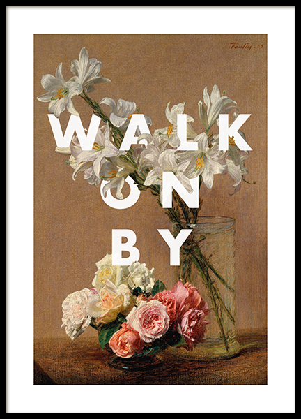 Walk on By Poster