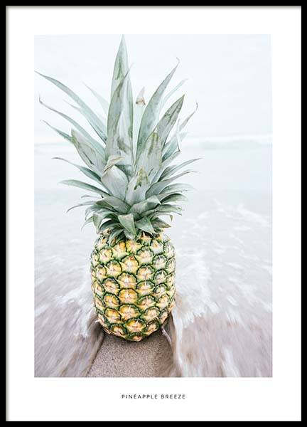Pineapple Breeze Poster