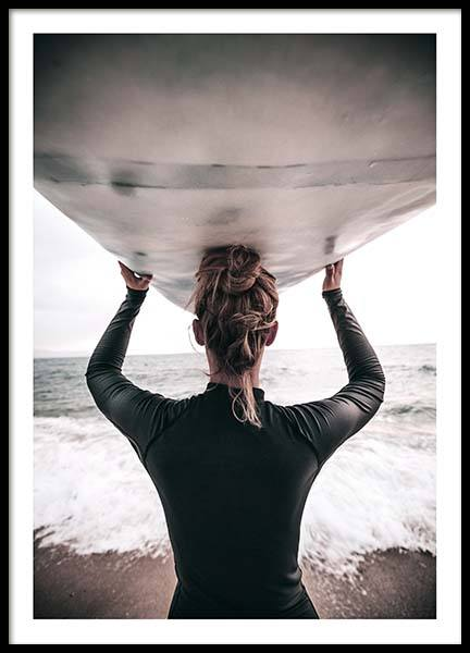 Catch The Waves Poster i gruppen Posters  / Fotokonst hos Desenio AB (2255)