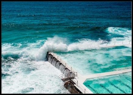 Bondi Beach Ocean Pool Poster