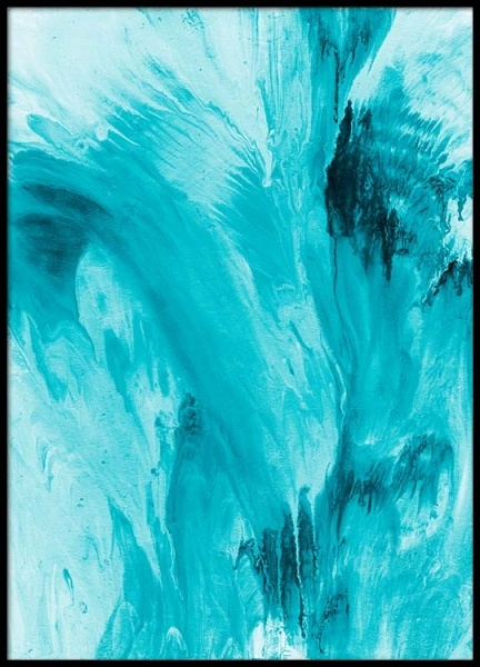 Abstract Water Poster i gruppen Posters  / Konstmotiv hos Desenio AB (2462)