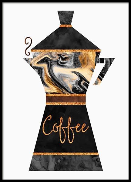 Coffee Pot Poster