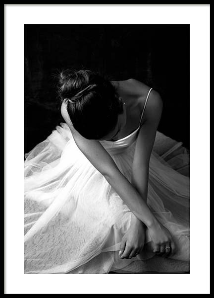 Ballerina Dancer No1 Poster