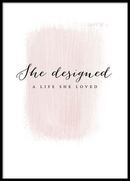 A Life She Loved Poster