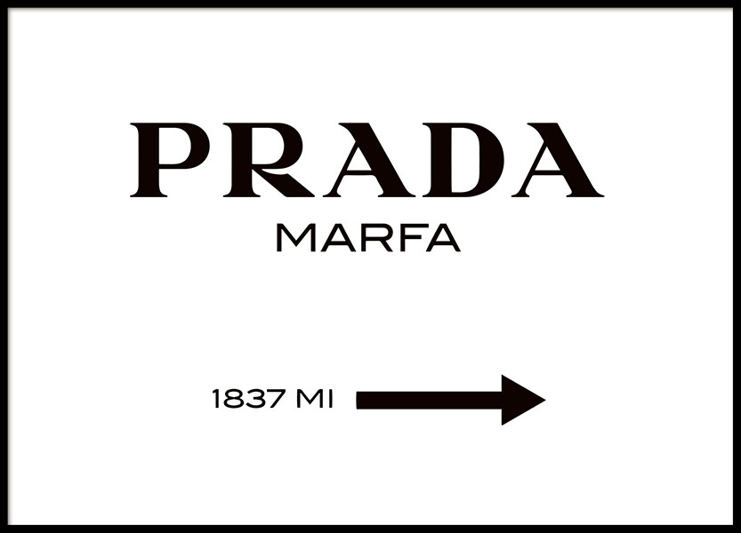 Gossip girl Prada Marfa tavla online. Köp prints med mode och fashion.