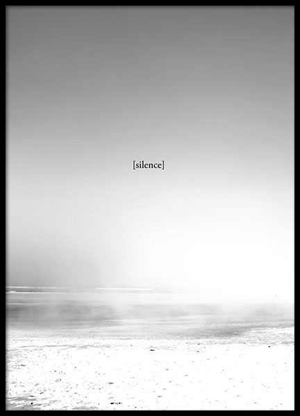 The Silence, posters i gruppen Posters  / Storlekar / 50x70cm hos Desenio AB (8551)