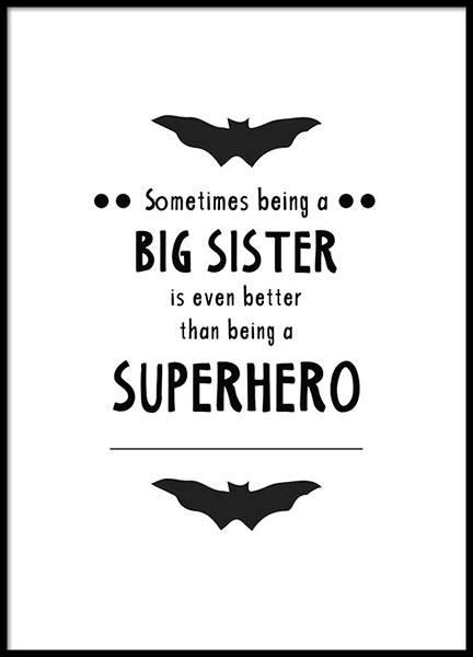 Big Sister Poster