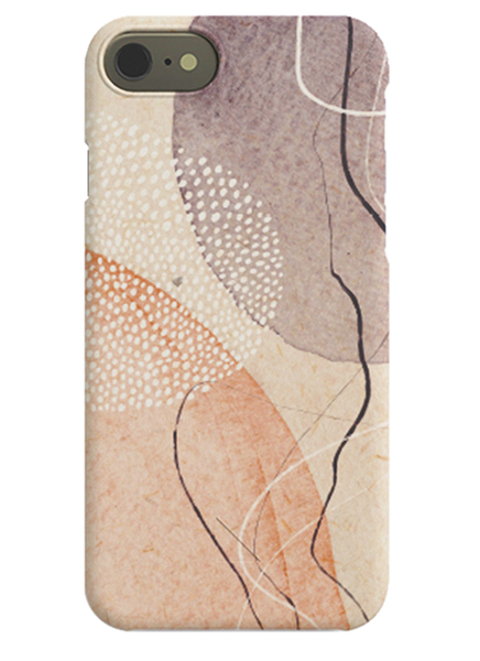 Abstract Flow iPhone Case i gruppen iPhone Mobilskal / iPhone 8 hos Desenio AB (C-50151)