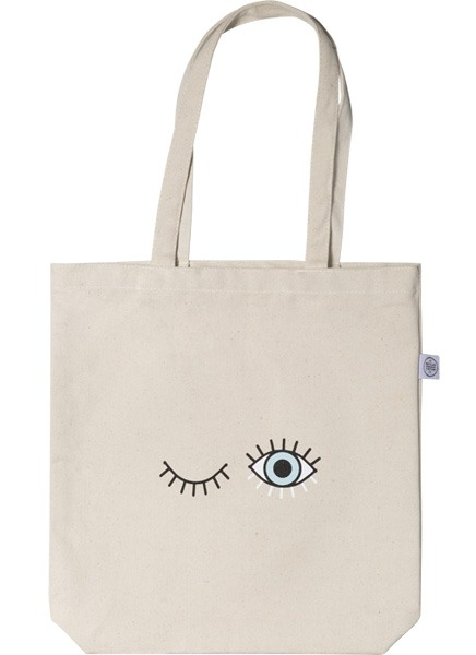 Baby Blue Tote Bag i gruppen Limited edition hos Desenio AB (TOTE50141)