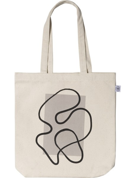 Outside the Box Tote Bag i gruppen Limited edition hos Desenio AB (TOTE50146)
