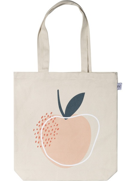 Life is Peachy Tote Bag i gruppen Limited edition hos Desenio AB (TOTE50147)