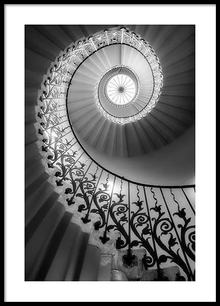 Shc - Staircase Poster
