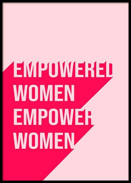 Empowered Women Poster