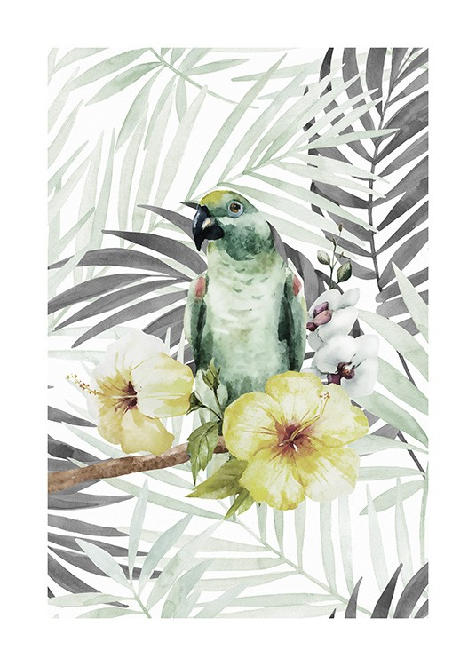 Tropical Bird No2 Poster / Djur hos Desenio AB (10649)