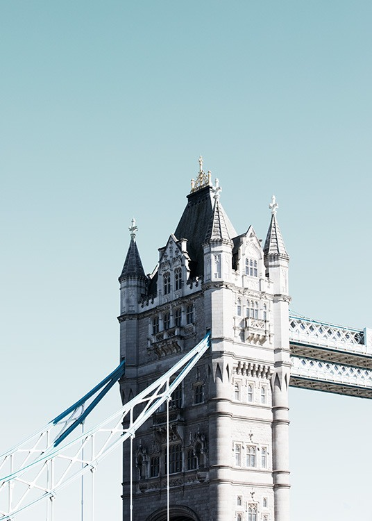 Tower Bridge Poster / Fotokonst hos Desenio AB (11356)