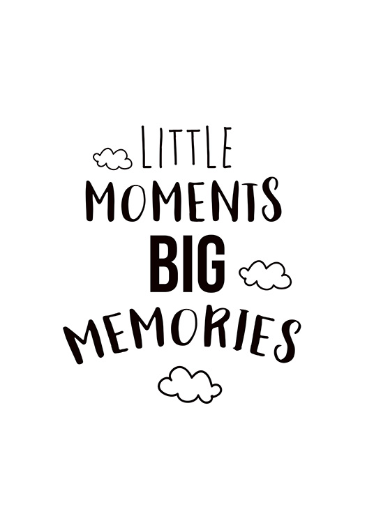 Little Moments Poster / Barntavlor hos Desenio AB (11442)