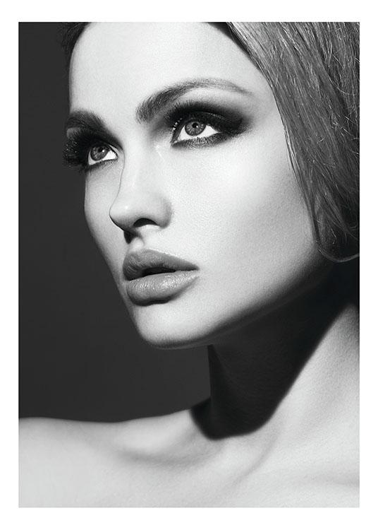 Svartvita Tavlor Kok : svartvita tavlor kok  Poster med fotokonst Svartvita tavlor online