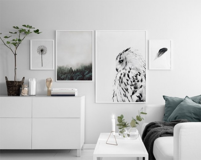 Asthetic Wall Collage Bedroom