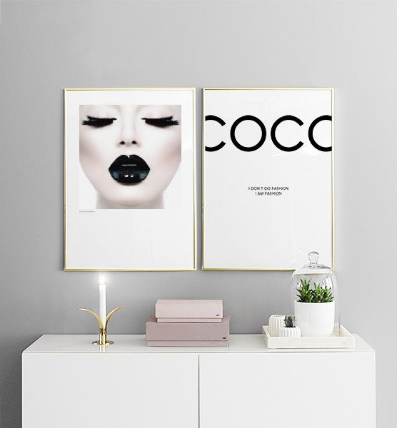 snygga posters tavlor