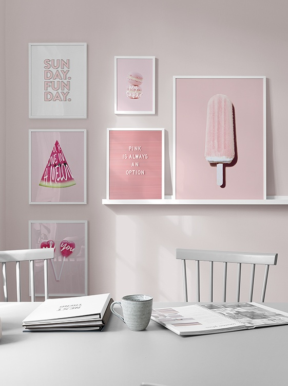 Pink pastel kitchen inspiration