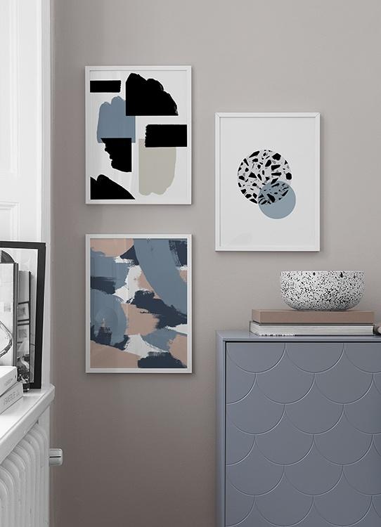 Inspiration Für Schöne Wohnzimmer Bilderwand Mit Postern | Desenio