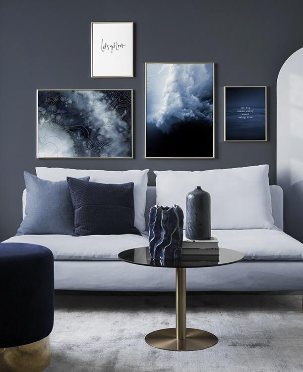 Inspiration Inredning: Skapa En Snygg Tavelvägg Med