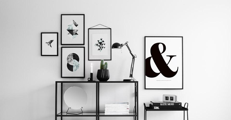 grafiska posters prints och affischer moderna tavlor online. Black Bedroom Furniture Sets. Home Design Ideas