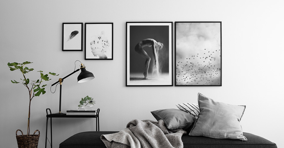 Black And White Framed Art Uk