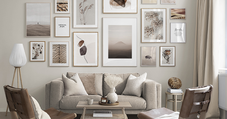 Wall Art With Scandinavian Design Art Pictures From Deseniocom